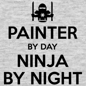 painter day ninja by night - Men's T-Shirt