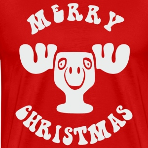 MERRY CHRISTMAS EIGHTIES - Männer Premium T-Shirt