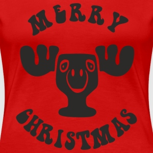 MERRY CHRISTMAS EIGHTIES - Frauen Premium T-Shirt