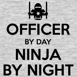 officer day ninja by night - Men's T-Shirt