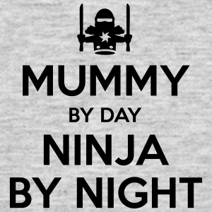 mummy day ninja by night - Men's T-Shirt
