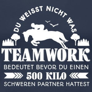 Teamwork  T-Shirts - Frauen Premium T-Shirt