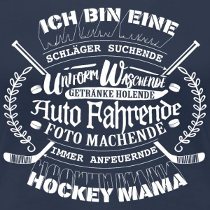 Hockey Mama T-Shirts - Frauen Premium T-Shirt