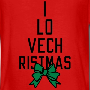 I love Christmas Long Sleeve Shirts - Teenagers' Premium Longsleeve Shirt