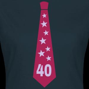 """Geburtstag T-Shirts mit """"Krawatte zum 40. Geburtstag"""""""