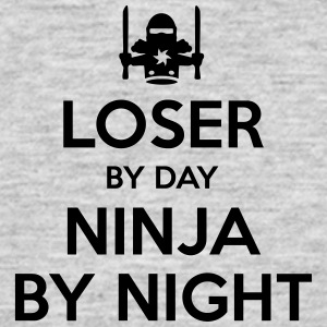loser day ninja by night - Men's T-Shirt