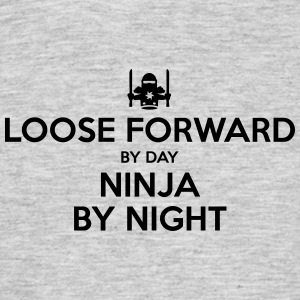 loose forward day ninja by night - Men's T-Shirt