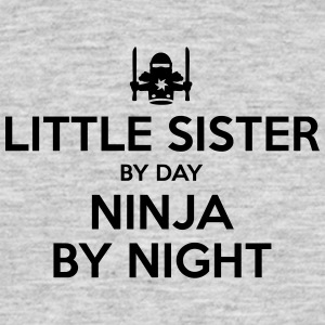 little sister day ninja by night - Men's T-Shirt