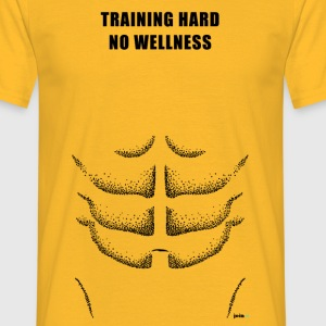 Training hard - Männer T-Shirt