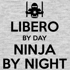 libero day ninja by night - Men's T-Shirt