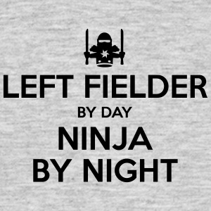 left fielder day ninja by night - Men's T-Shirt