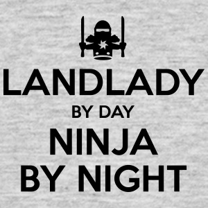 landlady day ninja by night - Men's T-Shirt