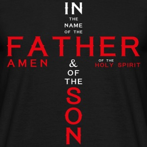 in the name of father2 Tee shirts - T-shirt Homme