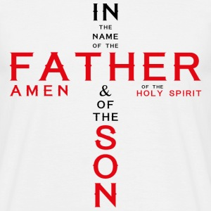 in the name of father1 Tee shirts - T-shirt Homme