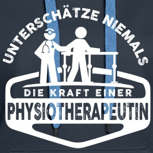 Physiotherapeutin Pullover & Hoodies - Frauen Premium Hoodie
