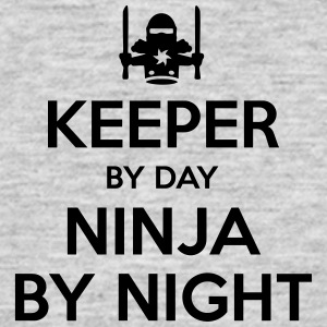 keeper day ninja by night - Men's T-Shirt