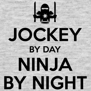 jockey day ninja by night - Men's T-Shirt