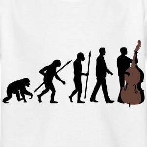 evolution_kontrabass_11_2016_2c03 T-Shirts - Kinder T-Shirt