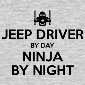jeep driver day ninja by night - Men's T-Shirt