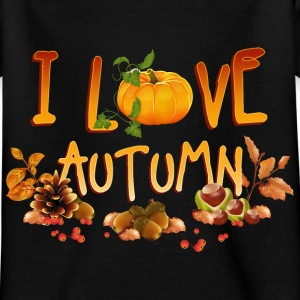 i_love_autumn_11_201602 T-Shirts - Kinder T-Shirt