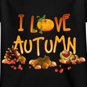 i_love_autumn_11_201603 T-Shirts - Kinder T-Shirt