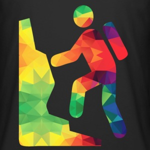 Colorful hikers - Men's Long Body Urban Tee