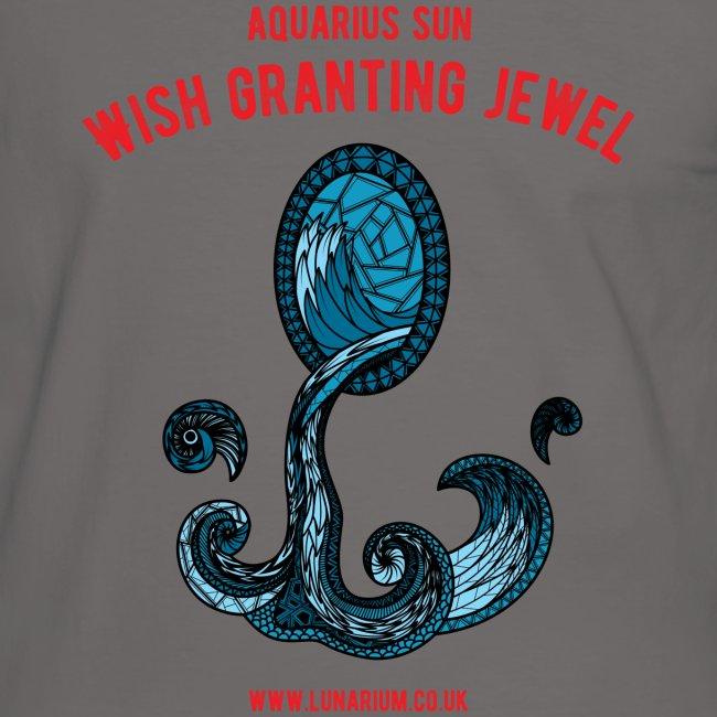 Aquarius Sun Men's Ringer Shirt