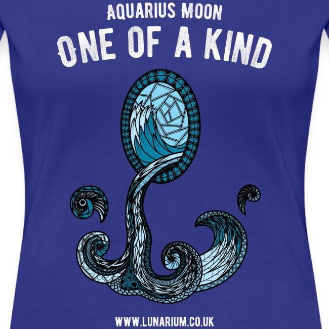Aquarius Moon Women's Premium T-Shirt