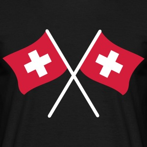 Swiss flag - Men's T-Shirt