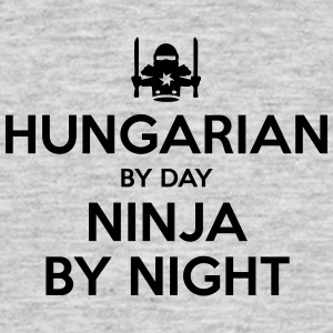 hungarian day ninja by night - Men's T-Shirt