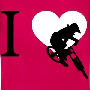 I love downhill - Women's T-Shirt