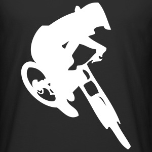 Downhill bike jump - Men's Long Body Urban Tee