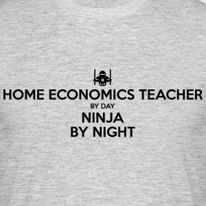 home economics teacher day ninja by nigh - Men's T-Shirt