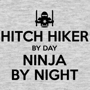 hitch hiker day ninja by night - Men's T-Shirt