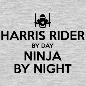 harris rider day ninja by night - Men's T-Shirt