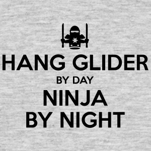 hang glider day ninja by night - Men's T-Shirt