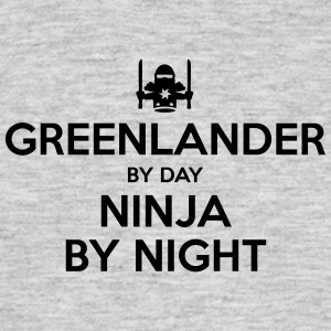 greenlander day ninja by night - Men's T-Shirt