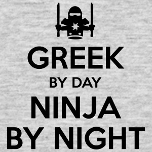 greek day ninja by night - Men's T-Shirt