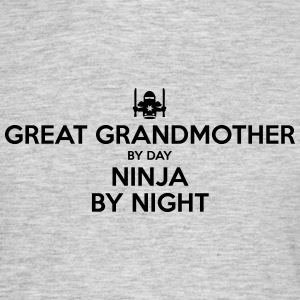 great grandmother day ninja by night - Men's T-Shirt