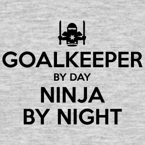 goalkeeper day ninja by night - Men's T-Shirt