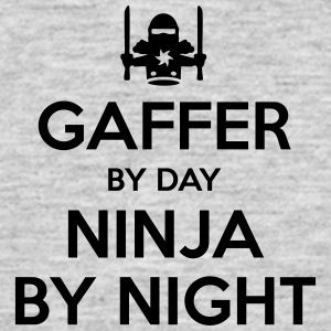 gaffer day ninja by night - Men's T-Shirt