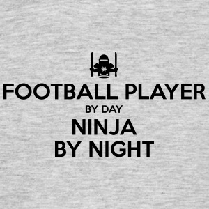 football player day ninja by night - Men's T-Shirt