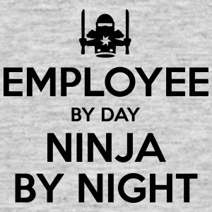 employee day ninja by night - Men's T-Shirt