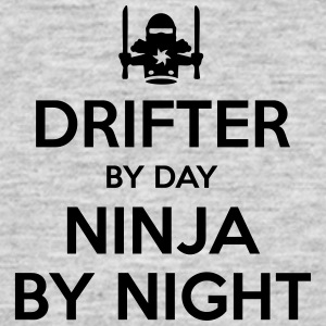 drifter day ninja by night - Men's T-Shirt