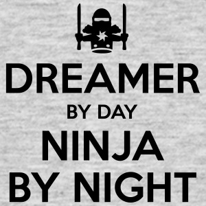 dreamer day ninja by night - Men's T-Shirt