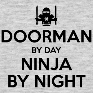 doorman day ninja by night - Men's T-Shirt