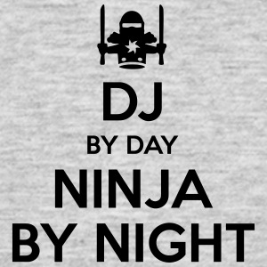 dj day ninja by night - Men's T-Shirt