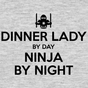 dinner lady day ninja by night - Men's T-Shirt