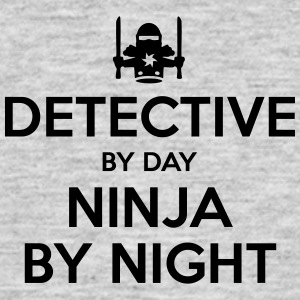 detective day ninja by night - Men's T-Shirt