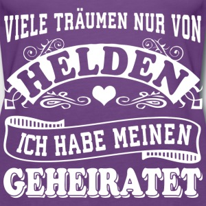 Held heiraten Tops - Frauen Premium Tank Top